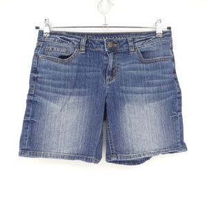 LC Lauren Conrad Stretch Denim Shorts